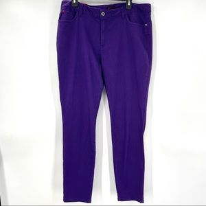 NEW! Sofia Vergara Purple Skinny Jeans 👖